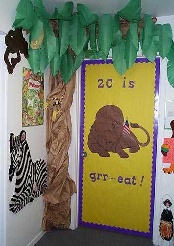 CLASSROOM DOOR DECORATION   learningenglish-esl
