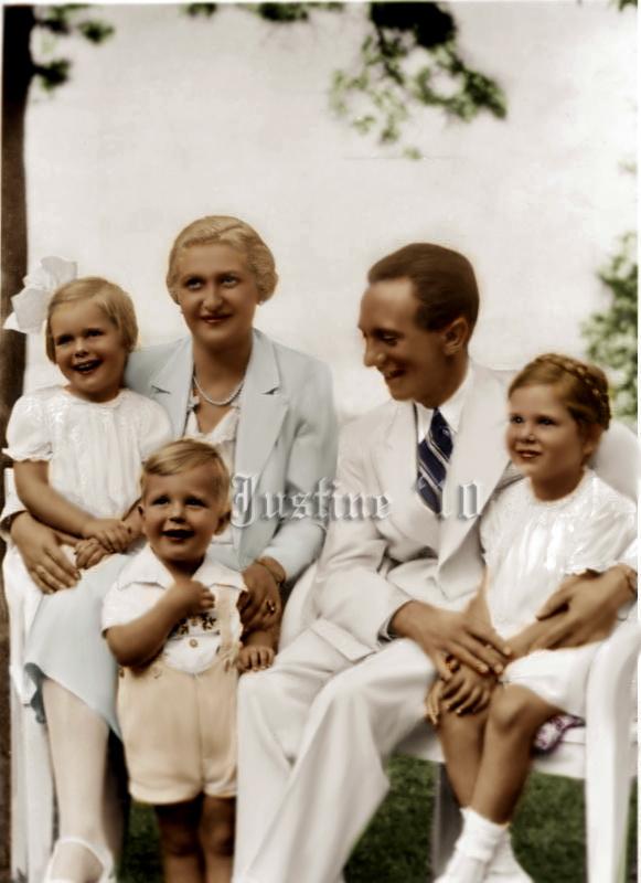 Third Reich Color Pictures: Reichsminister Joseph Goebbels