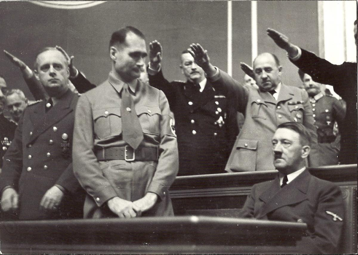 Adolf hitler and good german nazis