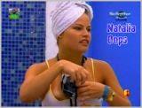 Tah Ocupado mostra Natalia mostrando seu peito gostoso...