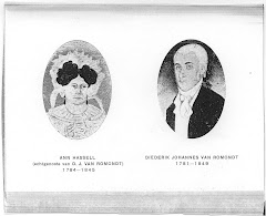 Our fore fathers, Diederik Johannes van Romondt & Ann Hassell