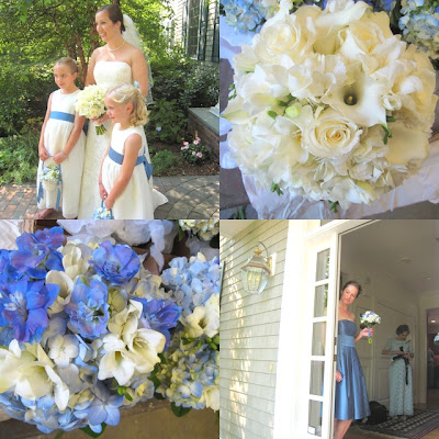 Ct Wedding Florist Blue Wedding Flowers Classic For The Shoreline