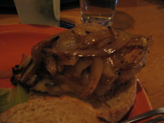 Chicken Honey Chipotle Sandwich with Carmelized Onions