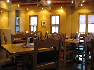 Blue Corn Cafe in Santa Fe
