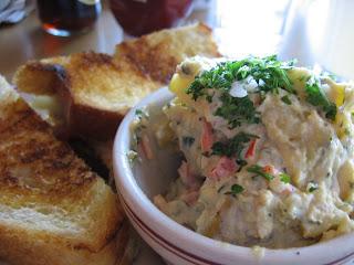 Southwest Turkey Sandwich with Potato Salad