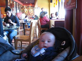 Killian at the Flying Star Cafe