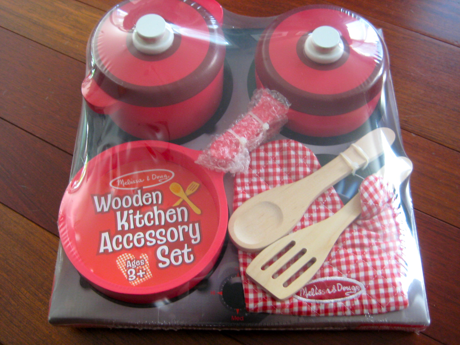melissa and doug wooden kitchen accessory set b s cooking made easy childrens wooden kitchen 9896