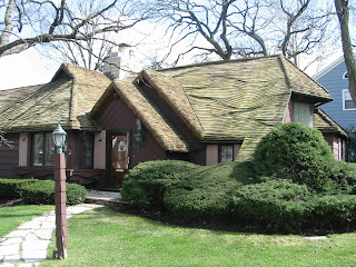 Illinoize Zook Roof House In Western Springs