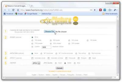 FixPicture - editor de imagenes gratuito con muchas herramientas
