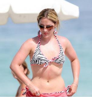 Heidi Range in bikini