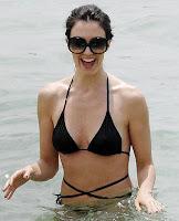 Paz Vega in bikini Candid_1