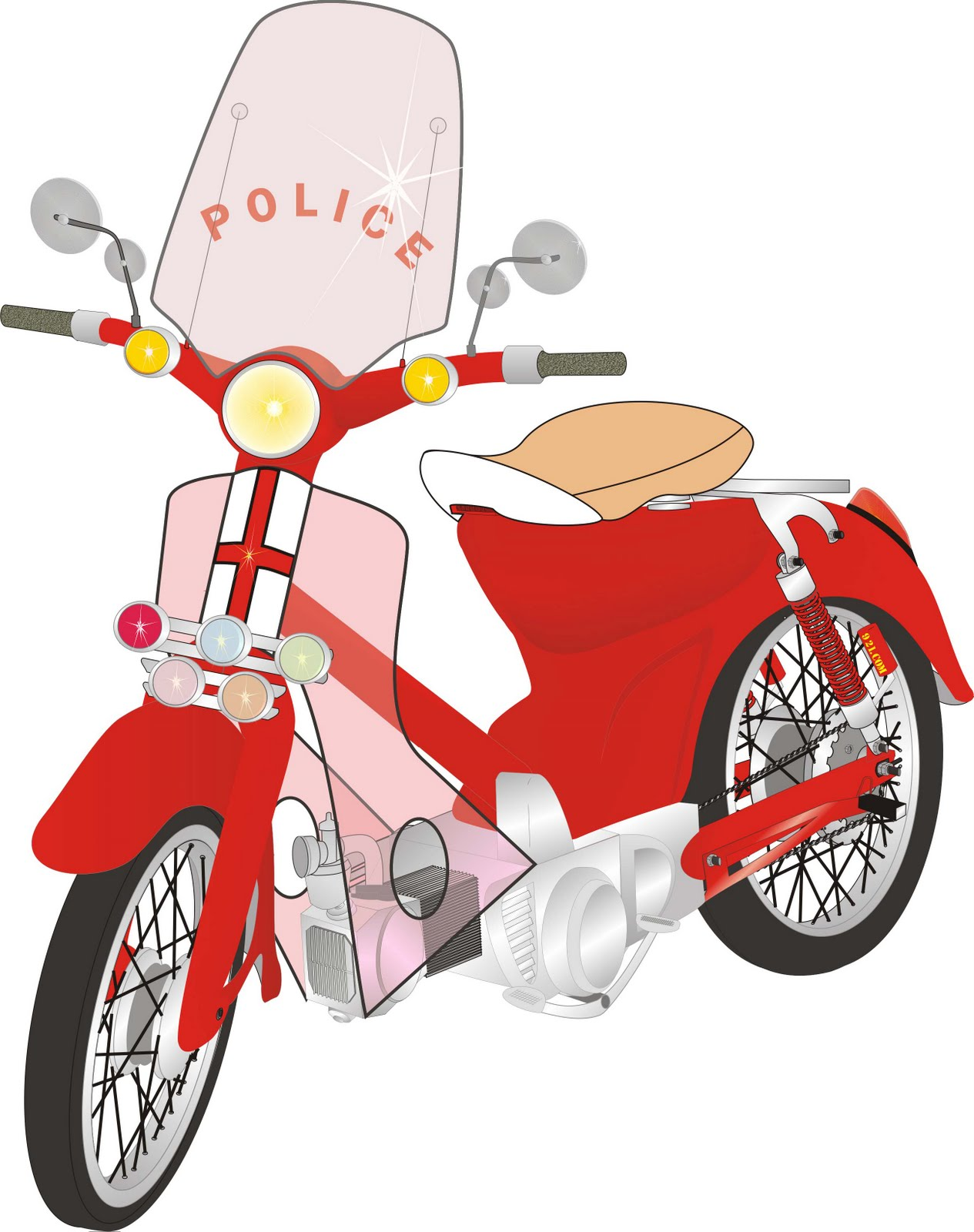 Gambar Kartun Untuk Motor Galeriotto