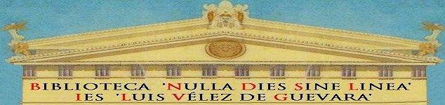 Biblioteca IES Luis Vélez de Guevara - Écija