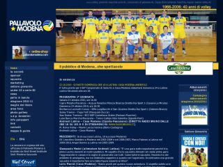 Casa modena volley sito ufficiale sitobello for Casa modena volley