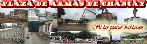 Plaza de Armas de Chancay