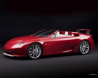 Lexus LF-A Roadster wallpapers