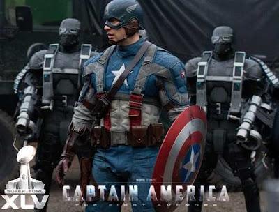 Capitán América Tráiler Superbowl - Capitán América Anuncio TV Super Bowl
