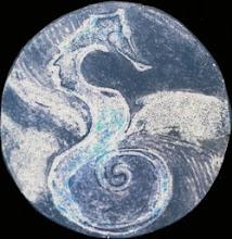 Surreal seahorse