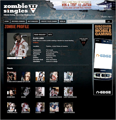 zombie online dating