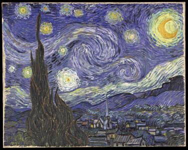 [출처] http://commons.wikimedia.org/wiki/Image:VanGogh-starry_night.jpg