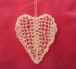 BaxterKnits: Lace Heart Knitting Pattern