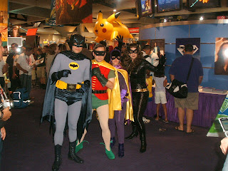 Bat-family (TV show): Batman, Robin, Batgirl, Catwoman