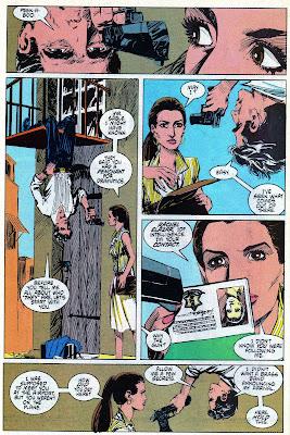 Jon Sable surprises Rachel Elazar