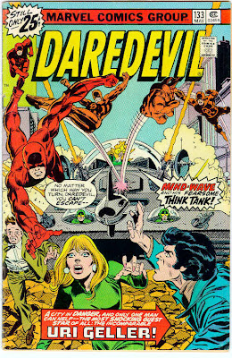 cover of Daredevil #133