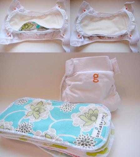 Handmade Gdiaper Cloth Insert Tutorial See Kate Sew