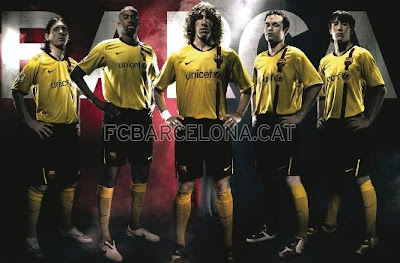 big sale d86e6 55a98 FC Barcelona Blog: Barça Transfer Zone: The 2008-2009 shirts