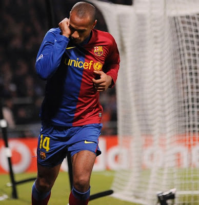 thierry henry google