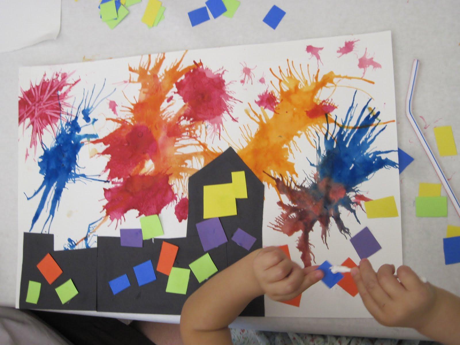 Lines Dots And Doodles Summer Art Preschool