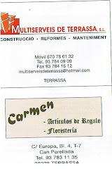 Multiserveis de Terrassa/Carmen