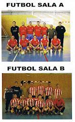 Fútbol Sala A y Fútbol Sala B