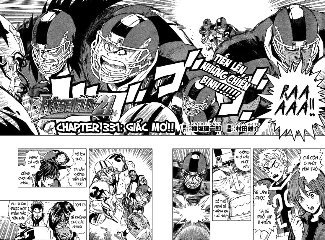 Eyeshield 21 chapter 331 trang 4