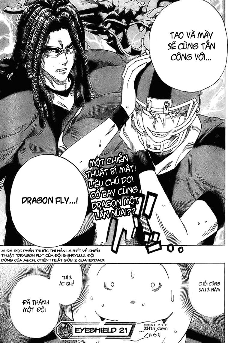 Eyeshield 21 chapter 324 trang 19