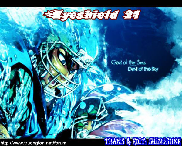 Eyeshield 21 chapter 318 trang 21