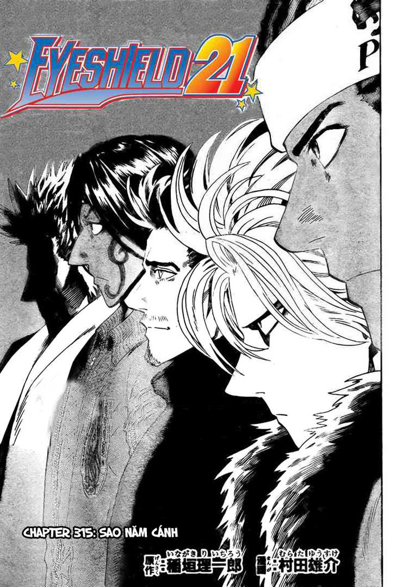 Eyeshield 21 chapter 315 trang 1