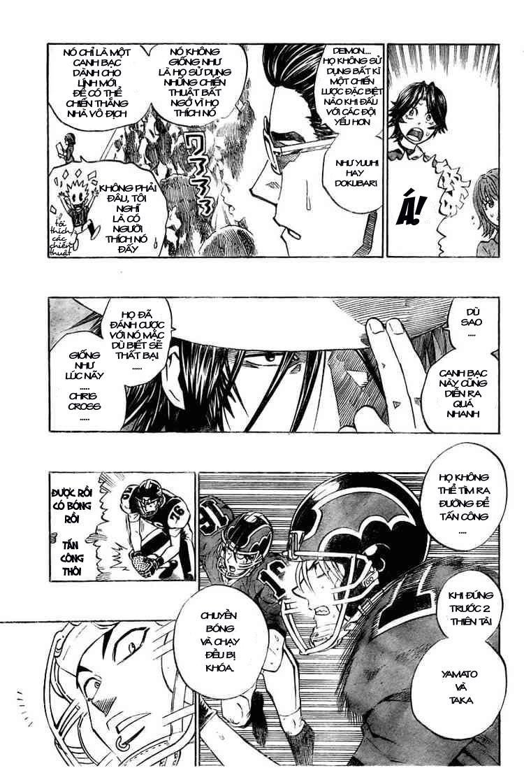 Eyeshield 21 chapter 288 trang 9