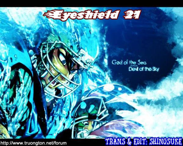 Eyeshield 21 chapter 310 trang 21