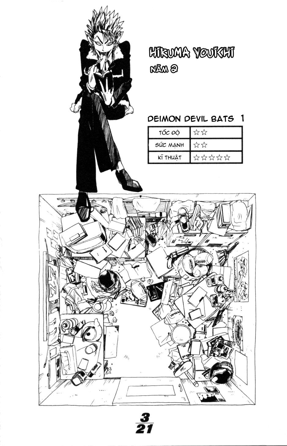 Eyeshield 21 chapter 3 trang 26