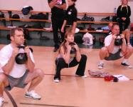 Goblet Squat at the RKC