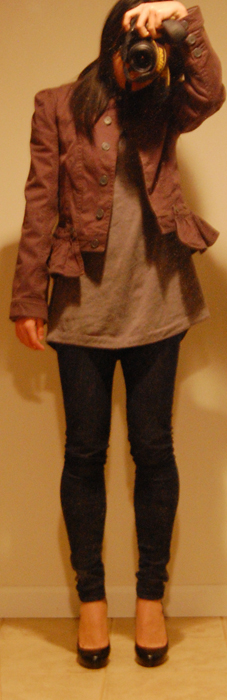 Juicy Couture L/S Peplum Jacket