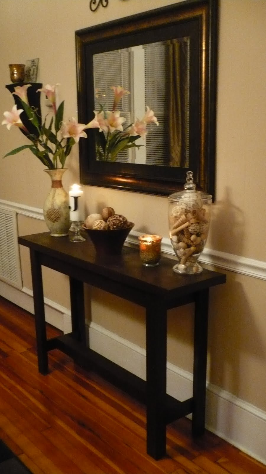 Remodelaholic very consoling console table project guest very consoling console table project guest geotapseo Gallery
