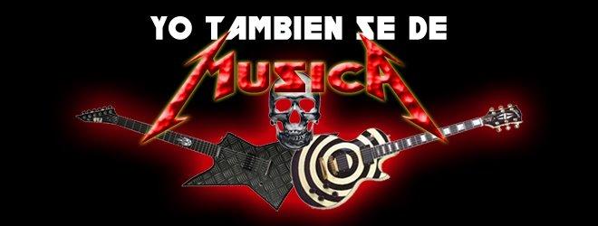 YO TAMBIEN SE DE MUSICA
