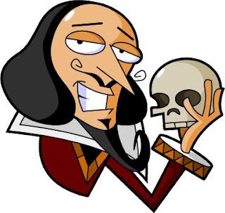 Resultado de imagen de shakespeare dibujo