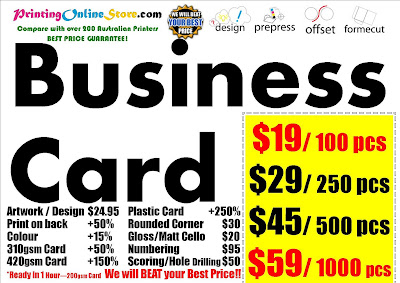 Print business card price list australia printer deliver by 7 business card price list australia printer deliver by 7 business days business cards reheart Images