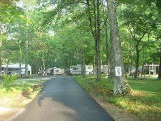 RV Camping Area