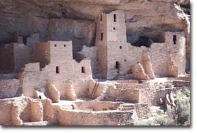 Cliff Palace at Mesa Verde (Anasazi Indians)