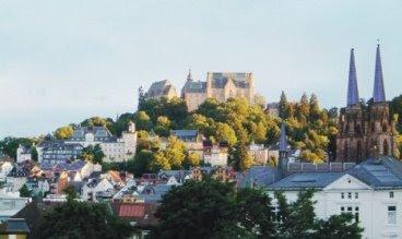 Solar Panelsin German town Marburg